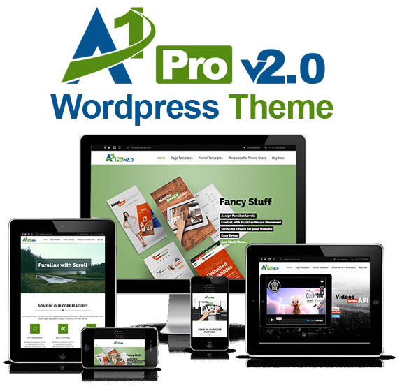 A1 Pro V2 WordPress Theme FREE DOWNLOAD By Sonuinfy