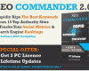 SEO Commander 2.0 Crack FREE DOWNLOAD 100% Working!