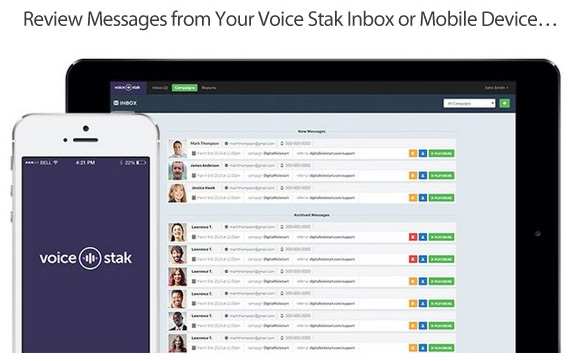 Voice Stak Voice & Video Message Software Free Download