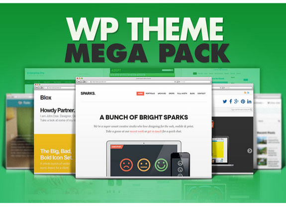 WP Theme Mega Pack FREE DOWNLOAD
