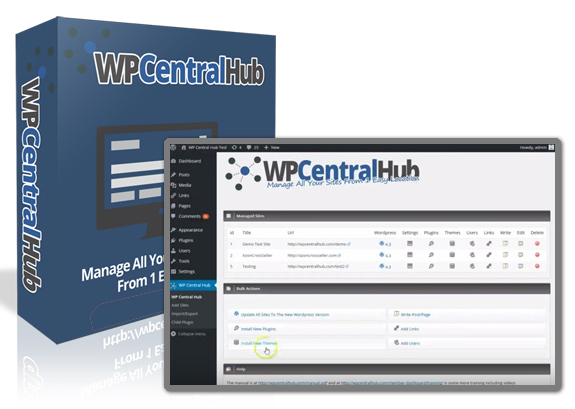 Download FREE WP Central Hub 2.0 Plugin NULLED