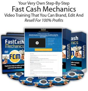 Download FREE Fast Cash Mechanics PLR Full License