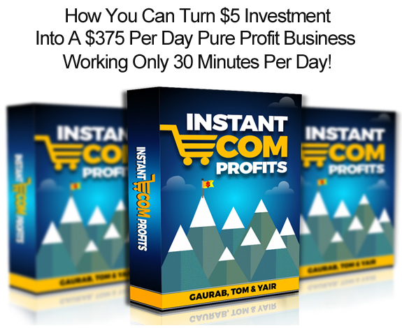 Download FREE Instant eCom Profits Pro License!