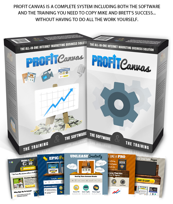 Instant ACCESS Profit Canvas Pro License By Brett Rutecky