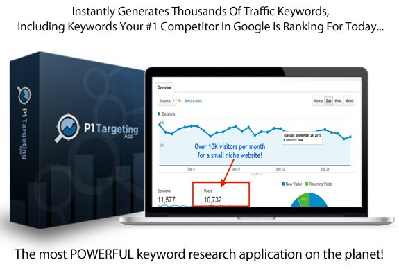 Instant ACCESS To P1 Targeting App UNLIMITED!!