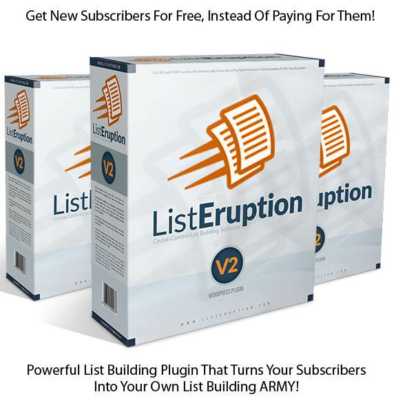 List Eruption 2.0 WordPress Plugin NULLED!