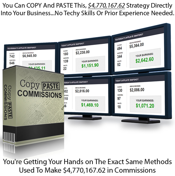 INSTANT Download Copy Paste Commissions FULL Training!
