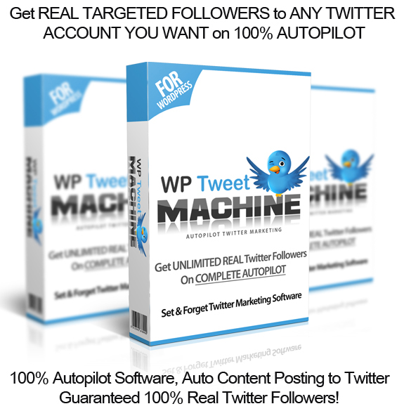 WP Tweet Machine WordPress Plugin NULLED! 100% Working!!