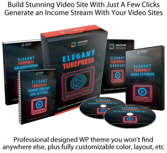 Download Elegant TubePress Theme Build Stunning Video Site