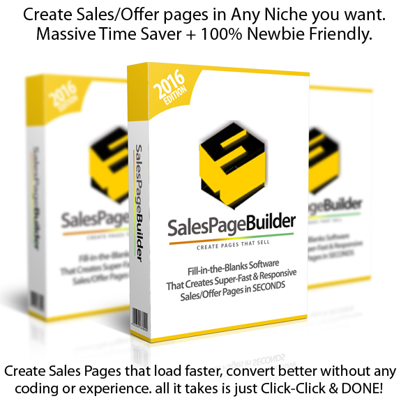 INSTANT Download Sales Page Builder Software By Ankur Shukla