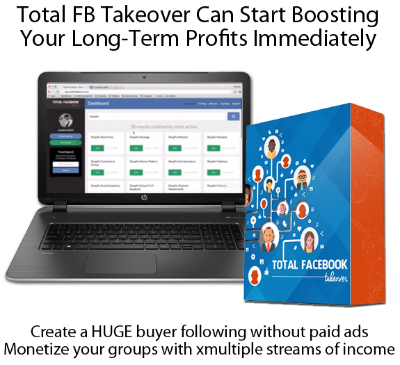 INSTANT Download Total FB Takeover Software 100% WORKING!!