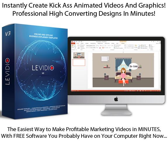Instant Download Levidio Vol 3 Explainer Video Template