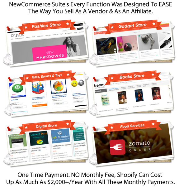 Newcommerce Suite Theme INSTANT DOWNLOAD Unlimited License