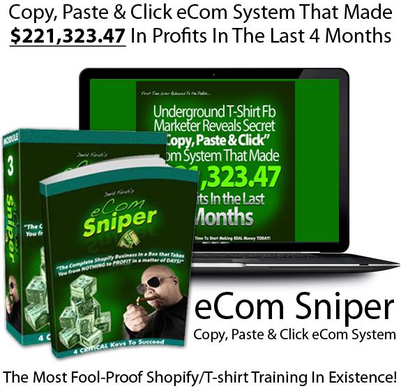 eCom Sniper By Devid Farah Instant Download