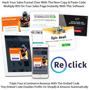 Get ReClick App New software Plugs Your Traffic Leak