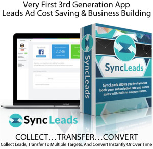 SyncLeads Software For Unlimited FB Accounts LIFETIME ACCESS!