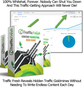 Traffic Fresh Software LIFETIME ACCESS Created By Ben Murray