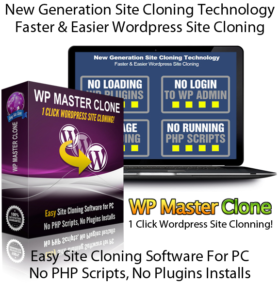 WP Master Clone Software READY TO DOWNLOAD 100% Working!!