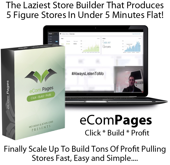 eCom Pages Pro Software UNLIMITED License Lifetime ACCESS!