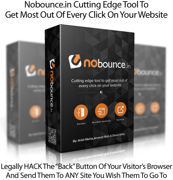 Nobounce.in WP Plugin Unlimited Site License Instant Download
