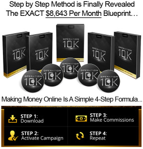 Operation $10K Instant Download Created By Desmond Ong
