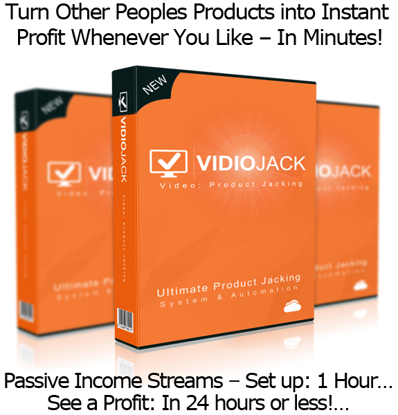 VidioJack Complete Formula and Software UNLIMITED ACCESS!!