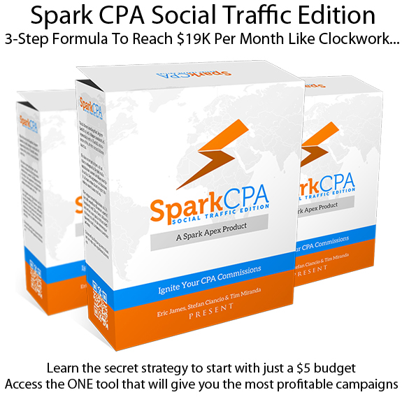 Spark CPA Social Traffic Edition LIFETIME ACCESS!