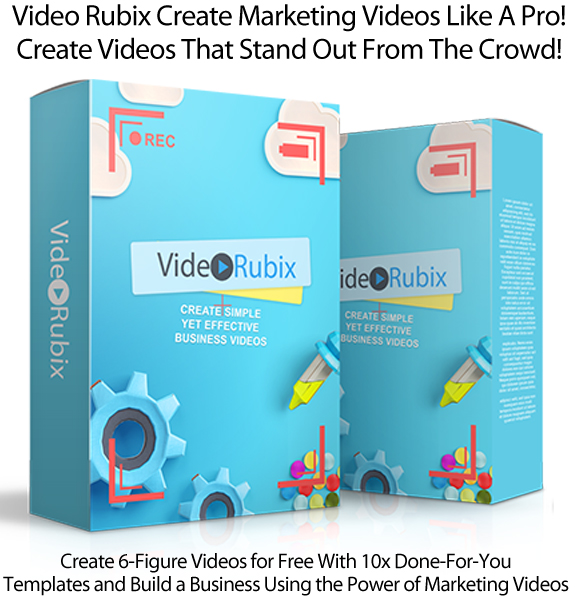 Video Rubix Video Creation Training Instant Download