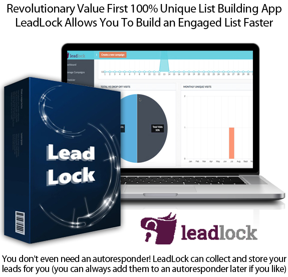 LeadLock App Pro License Lifetime Access By Ben Murray
