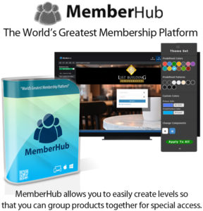 MemberHub Software Monthly Lifetime Access By Chad Nicely