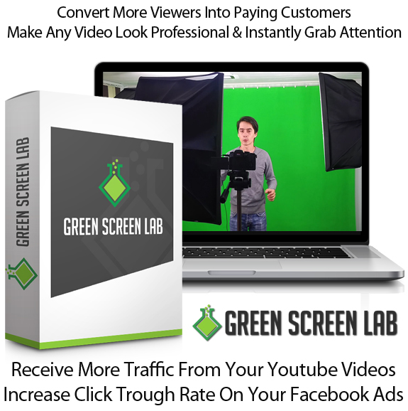 Green Screen Lab Software Lifetime Access By Ionut Macovei