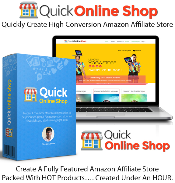 Quick online shop Unlimited License FE Instant Access
