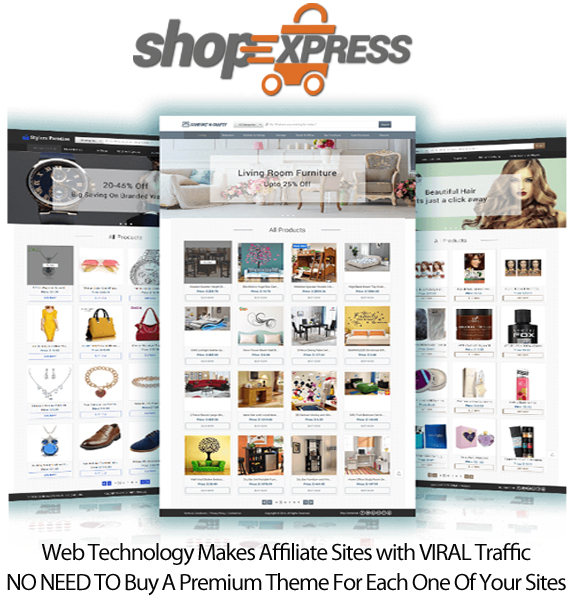 ShopExpress Software For Unlimited Store Instant Download