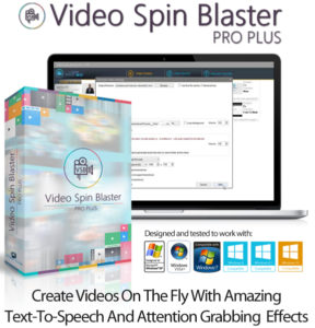 Video Spin Blaster Pro 2.0 With License Instant Download