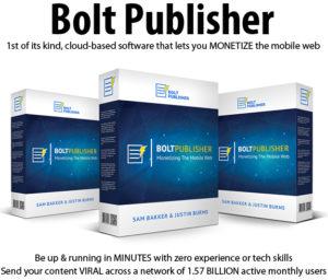 Bolt Publisher Apps Multi License Full Access Lifetime