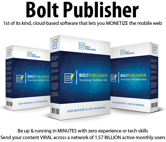Bolt Publisher Apps Multi License Full Access Lifetime