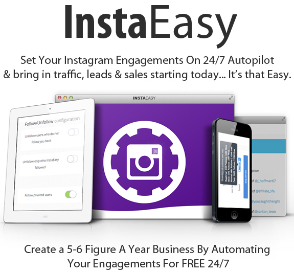 Instaeasy Software Paid Quarterly Full Access By Luke Maguire