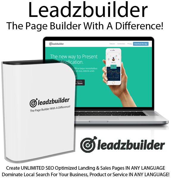 Leadzbuilder Page Builder Developer License Instant Download
