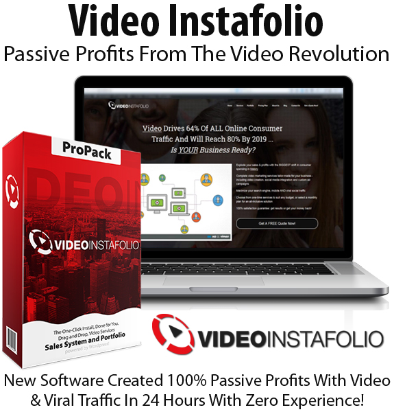 Video Instafolio Software Premium License Instant Download