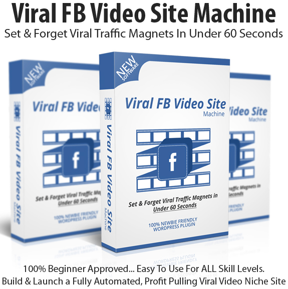Viral FB Video Site Machine Instant Download By Sherman Fredericksen