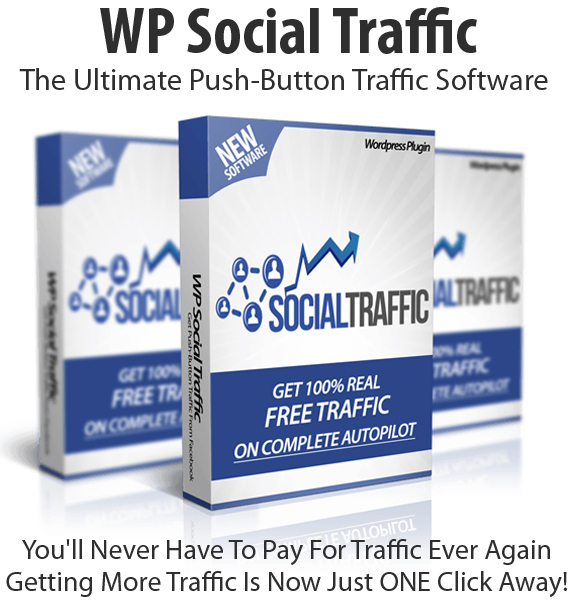 WP Social Traffic Software Instant Download UNLIMITED Sites License