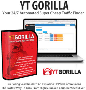 Free Download YT Gorilla Software Diamond License By Chris Fox