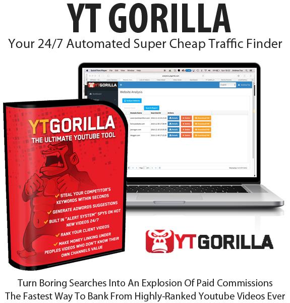 Free Download YT Gorilla Software Diamond License By Chris Fox