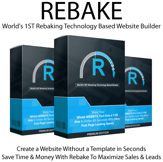 Rebake App PREMIUM EDITION FREE Download By Jai Sharma