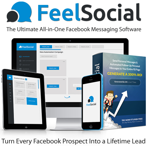 FeelSocial Software Pro By Brad Stephens Lifetime Access