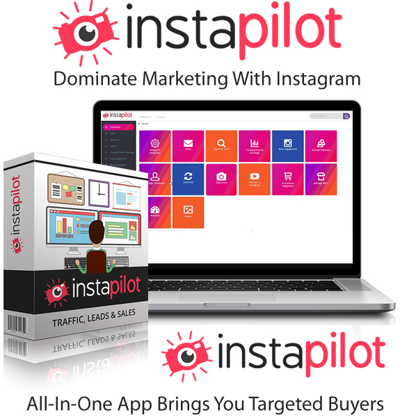 InstaPilot Software Pro By Sam Robinson Instant Download