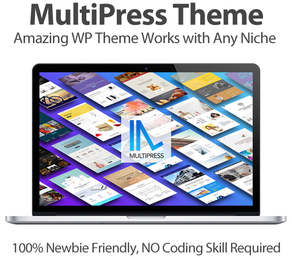 MultiPress Theme Developer Instant Download By Tantan Hilyatana