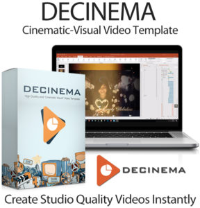 Decinema Cinematic Template Full Package Instant Download