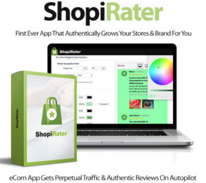 ShopiRater Software Pro Instant Download Created By Ben Murray