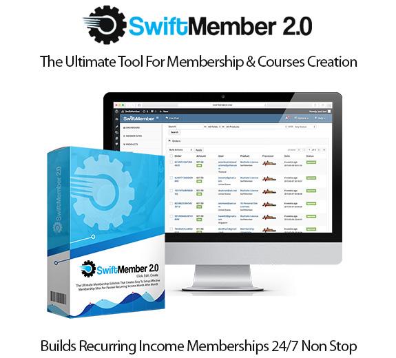 Swift Member 2.0 Multi Package By OJ James Instant Download